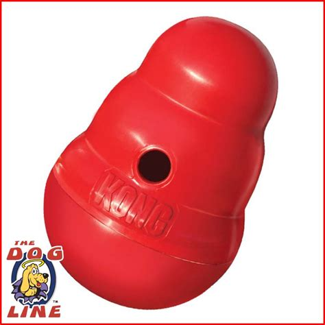 Kong Wobbler Small Mainan Anjing kong wobbler small entertainment