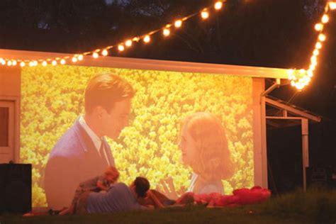 diy backyard movie theater 30 creative and fun backyard ideas hative