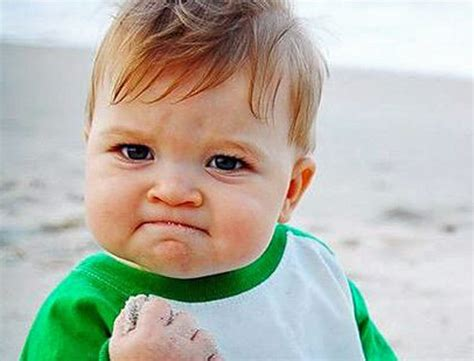 Meme Baby Success - the internet sensation success baby is all grown up