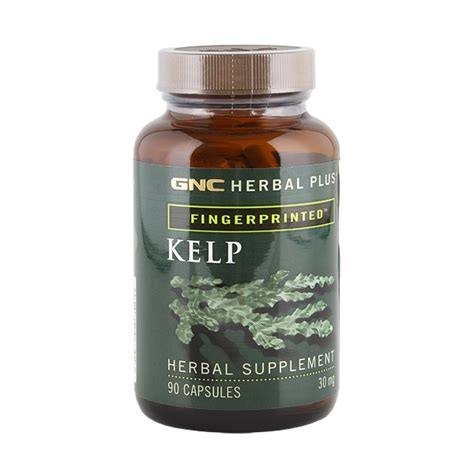 Gnc Kelp gnc brand kelp 30 mg 90 capsule remedii naturale