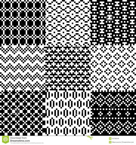 Modern Interior Design Blogs seamless pixel patterns set royalty free stock images