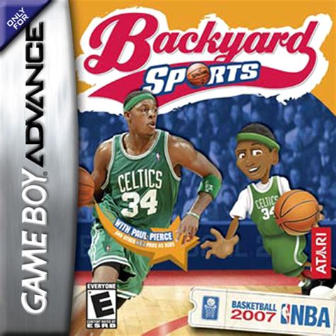 play backyard sports online play backyard sports basketball 2007 nintendo game boy