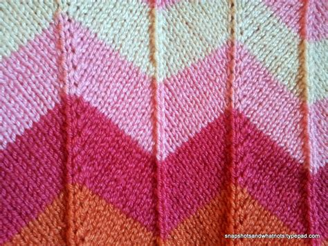 knit chevron pattern chevron baby blanket snapshots whatnots