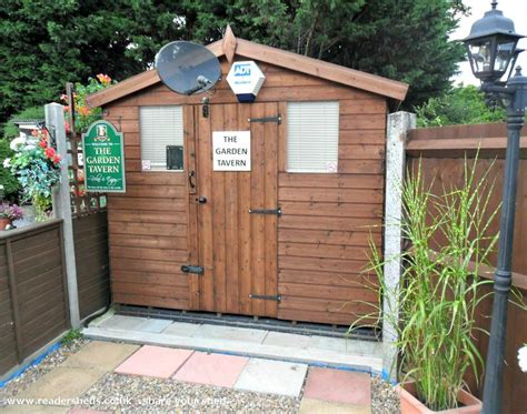 Norwich Sheds by The Garden Tavern Pub Entertainment From Norwich Owned By