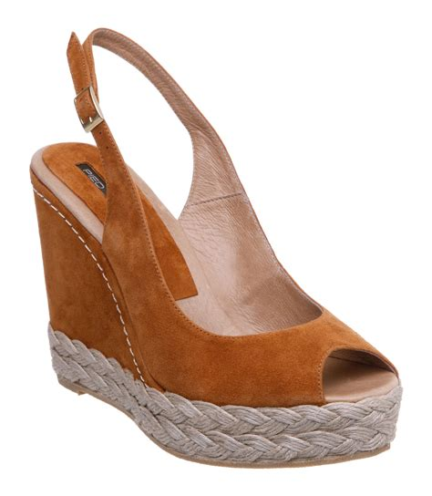 Wedges Simple Moka 1 pied a terre laurel p simple sling back wedge sandals in
