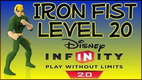 disney infinity iron fist skill tree level showcase