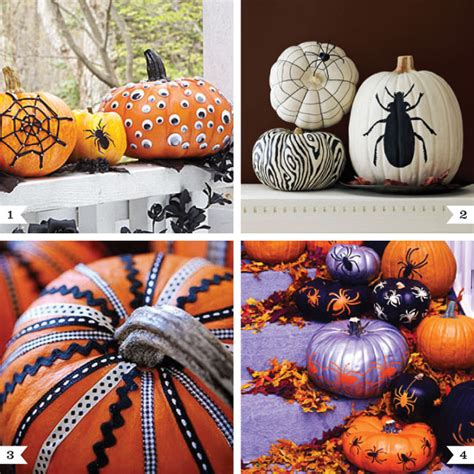 No Carve Pumpkin Decorating Ideas by Image No Carve Pumpkin Ideas