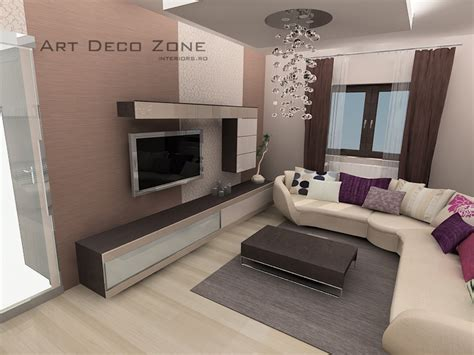 Art Deco Interiors by Apartament Sebastian Art Deco Zone