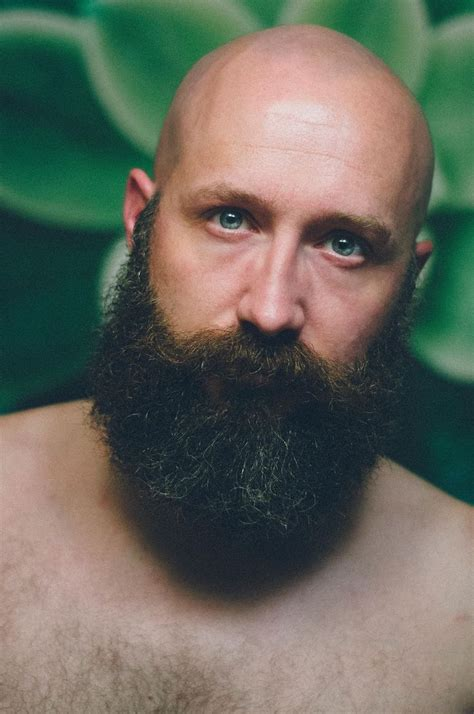bearded heat l 73 best b a l d images on bald heads beards