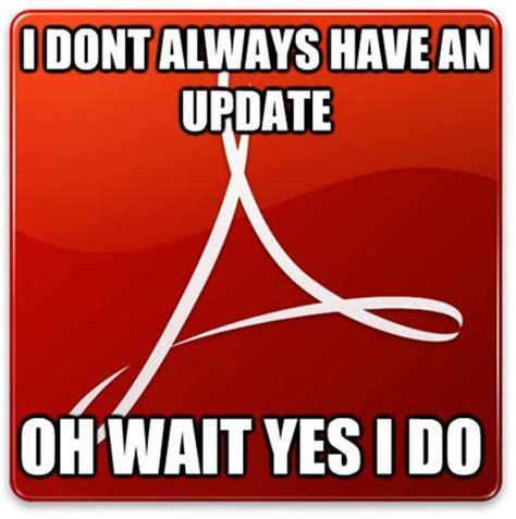adobe update adobe updates ned martin s amused