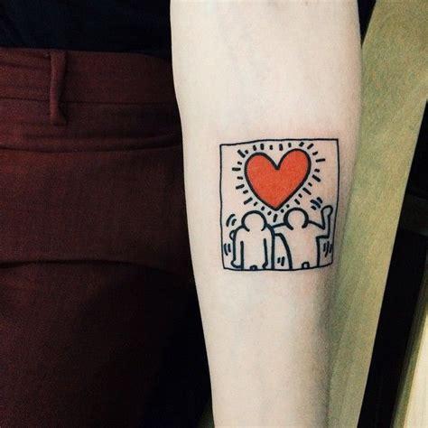 keith haring tattoo keith haring tattooistdoy tattooworkers