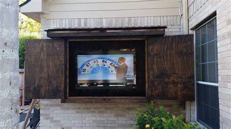 outdoor tv cabinet ideas 1000 ideas about outdoor tv cabinets on tv