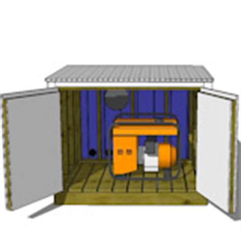 Shed For Portable Generator by Small Sheds For Generators Generator Shed Portable