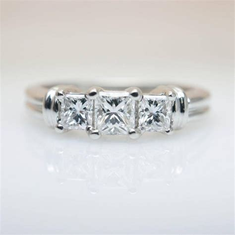3 Wedding Ring by 15 Best Collection Of 3 Band Engagement Rings