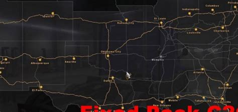 map usa truck simulator area 51 map 1 9 4 for ats american truck simulator mod