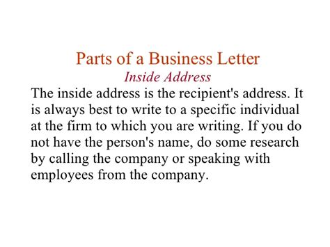 Business Letter Writing Prompts Middle School writing a business letter lesson plan middle school