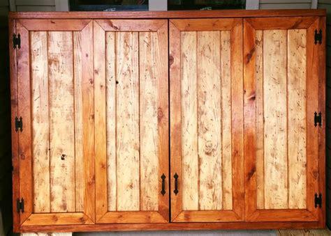 Outdoor Tv Cabinets With Doors Outdoor Tv Cabinet With Bi Fold Doors Building Plan Diy Backyard