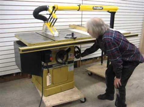 sold used powermatic model 66 3hp table saw us0171