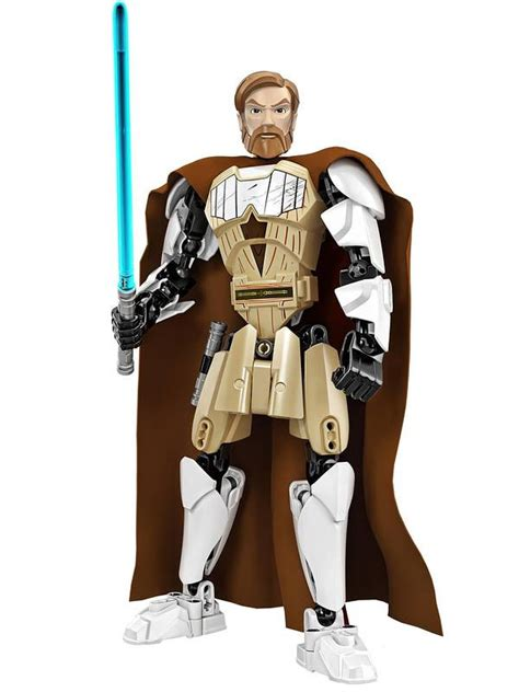 Lego Obi Wan Kenobi Starwars summer 2015 lego wars general grievous obi wan figures bricks and bloks