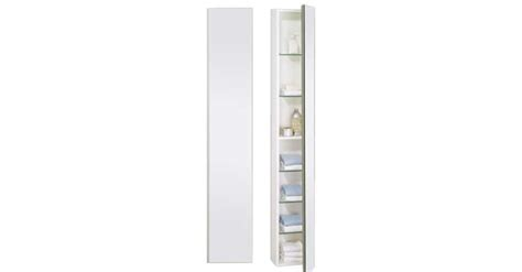 tulisa designer slimline bathroom cabinet internal detail