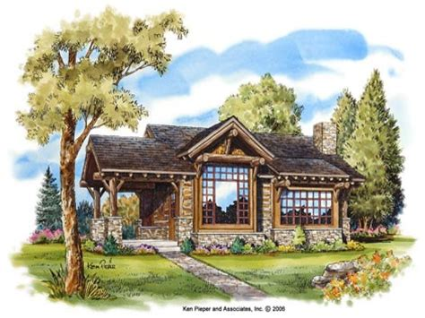 Vacation Cottage Plans by Small Mountain Cottage Plans Homes Floor Plans
