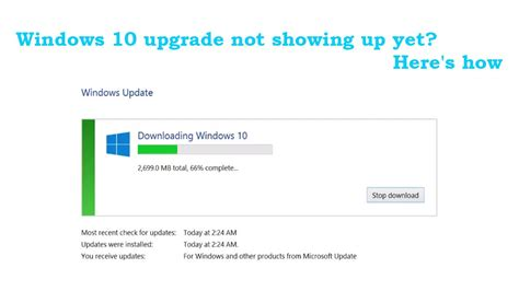 how to force windows 10 update how to force download windows 10 free upgrade right now