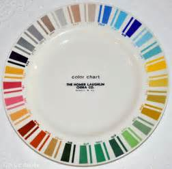 vintage fiestaware colors vintage dinnerware color chart found on the