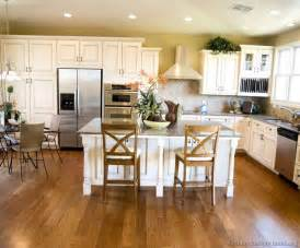 White Kitchen Cabinets Wood Floors Kitchen Of The Day A Traditional Kitchen With Antique