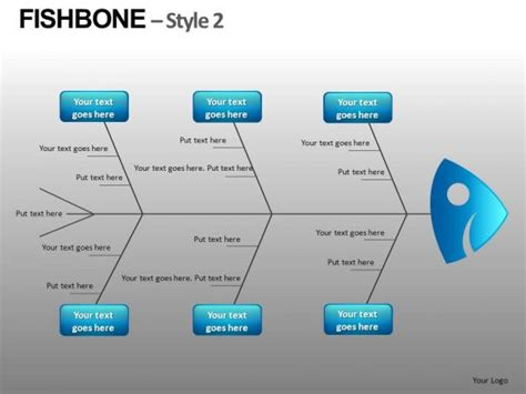 download fishbone diagram template powerpoint fish bone