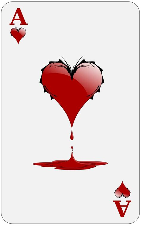 ace of the ace of hearts by tamtan on deviantart