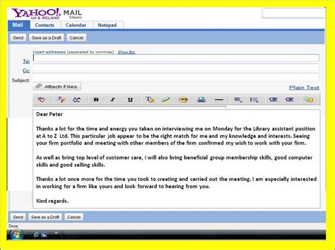 thank you letter after via email sle sle thank you letter after via email