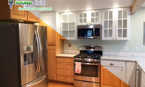 Professional Kitchen Cabinet Painting by Sound Finish Cabinet Painting Refinishing Seattle