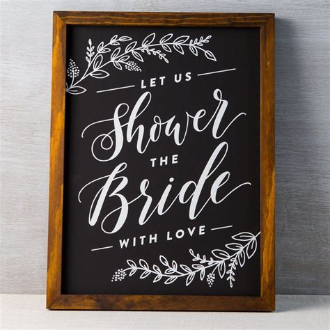 Wedding Shower Banner Sayings by Bridal Shower Chalkboard Bridal Shower Chalkboard