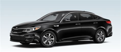 Black Kia Optima 2016 Kia Optima Color Options And Specs
