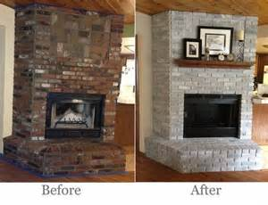 redoing brick fireplace best 25 brick fireplace makeover ideas on