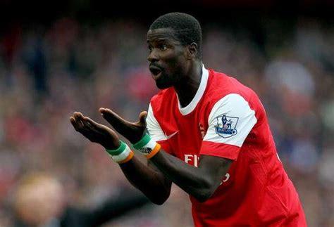 arsenal eboue former arsenal player emmanuel eboue reveals he
