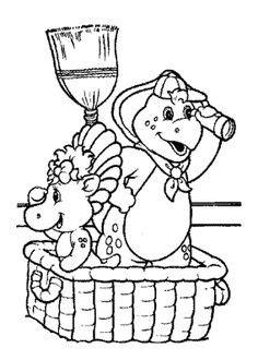 happy birthday barney coloring pages djur m 229 larbilder f 246 r barn teckningar online till skriv ut