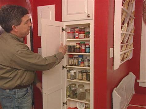 between stud storage cabinets built in spice rack hgtv