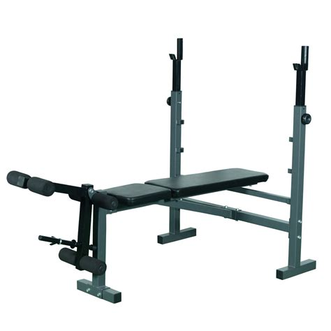weight bench leg extension soozier adjustable olympic flat weight bench with leg