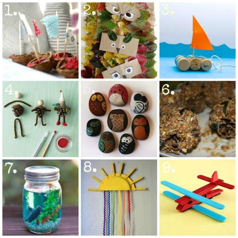 nature craft projects pin by diana hemmelgarn on b creative nature craft ideas