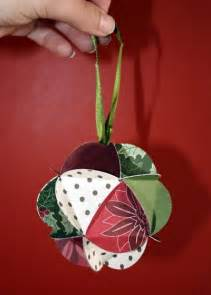 december challenge papercraft christmas ornaments
