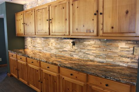 Rustic Kitchen Backsplash Tile by Kitchen Backsplashes Tile Glass Rustic