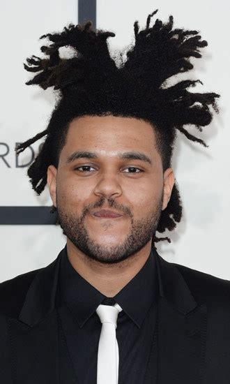 the weeknd hair 2015 the weeknd hollywood life