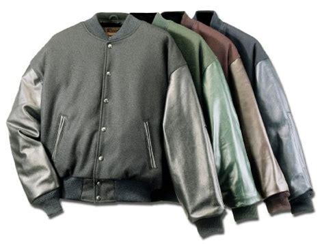 Bbross Varsity Jacket Brown Premium reed leather s premium varsity leather wool