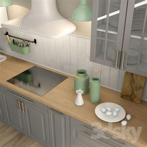Kitchen Handle 3d Model Free