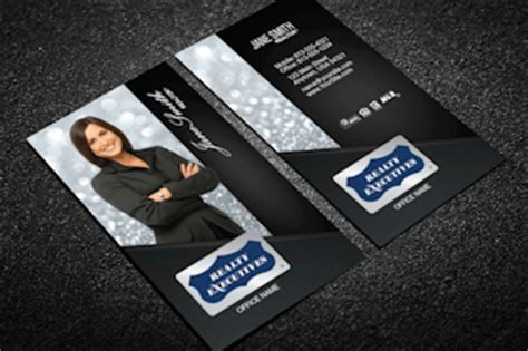 Realty Executives Business Cards Templates realty executives business cards designed for realty