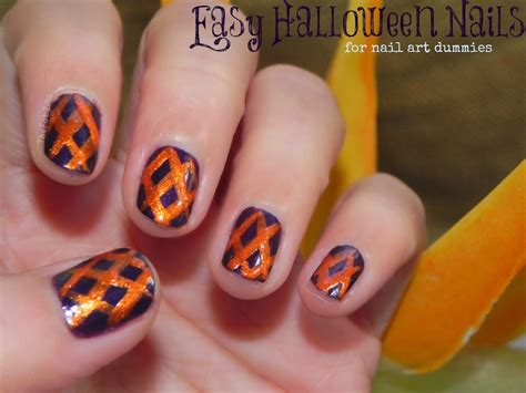easy nail art procedure halloween nail art easy how you can do it at home