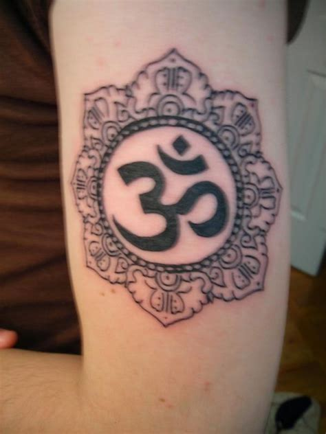 om tattoo color arm pinterest