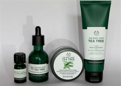 The Shop Tea Tree the shop tea tree range review b h a r t i p u r i