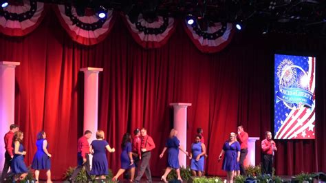 the new voice of liberty the voice of liberty voices of liberty july 4th performance epcot 2017